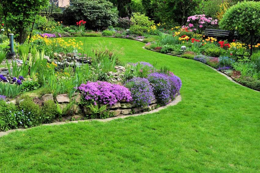 Ihr beet im garten immer gut gepflegt for Gartengestaltung beete